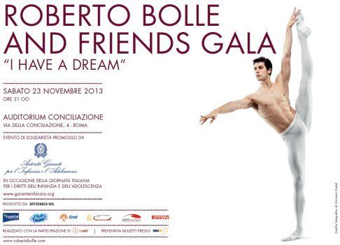 Viktorina Kapitonova Roberto Bolle & Friends Rome 2013 Gala