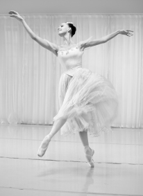 Viktorina Kapitonova Photoshoot with Maria Helena Buckley in Paris Ballet