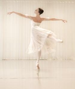 Viktorina Kapitonova Photoshoot with Maria Helena Buckley in Paris Ballet