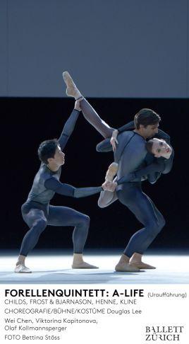 Viktorina Kapitonova A-Life Ballett Zurich Opernhaus