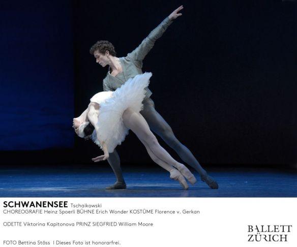 Viktorina Kapitonova Schwanensee Heinz Spoerli Zurich Opernhaus Ballet