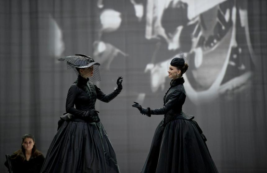 Viktorina Kapitonova as Anna Karenina Zurich Opernhaus 2015 choreographed by Christian Spuck for Ballett Zurich