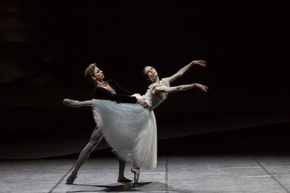 Viktorina Kapitonova as Giselle