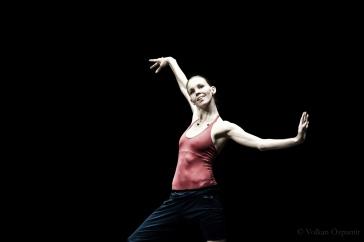 Viktorina Kapitonova rehearsing at the Open day in Zurich