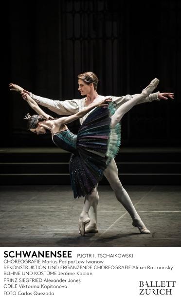 Viktorina Kapitonova Swan Lake Ballet Zurich