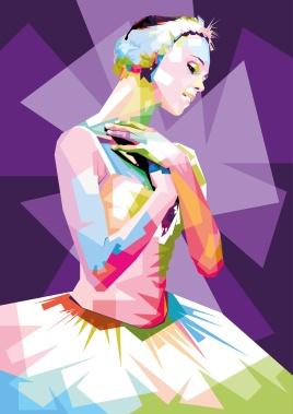 Viktorina Kapitonova Fan Art Swan Lake Prima Ballerina