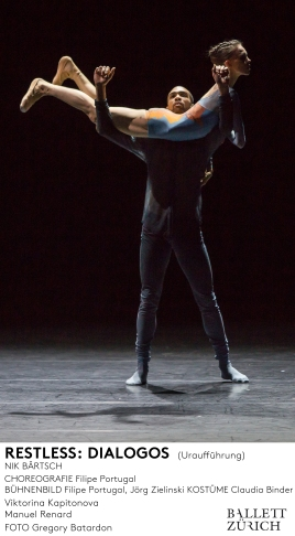 Ballett Zürich - Restless - 2015/16 © Gregory Batardon