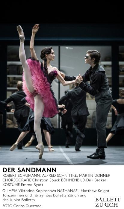 Ballett Zürich - Der Sandmann - 2015/16 © Carlos Quezada