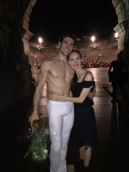 Viktorina Kapitonova Roberto Bolle Roberto Bolle & Friends Arena Di Verona